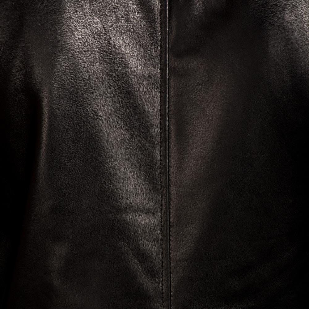 Mens Jack Black Leather Biker Jacket 7