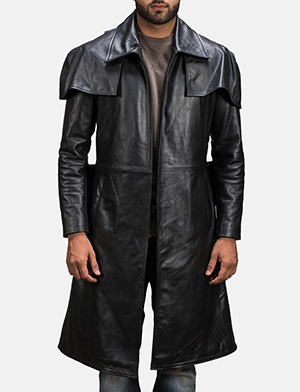 Army%20black%20leather%20duster%20for%20men 1491386850096