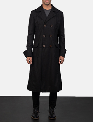 Detective wool peacoat for men 2682 1550662385405