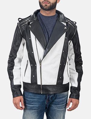 Mens Kravitz Leather Biker Jacket 1