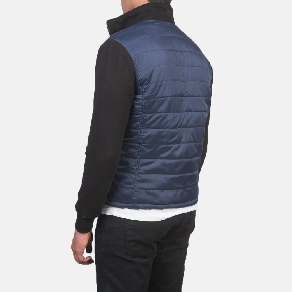 Men's Nashville Quilted Blue Windbreaker Jacket 5
