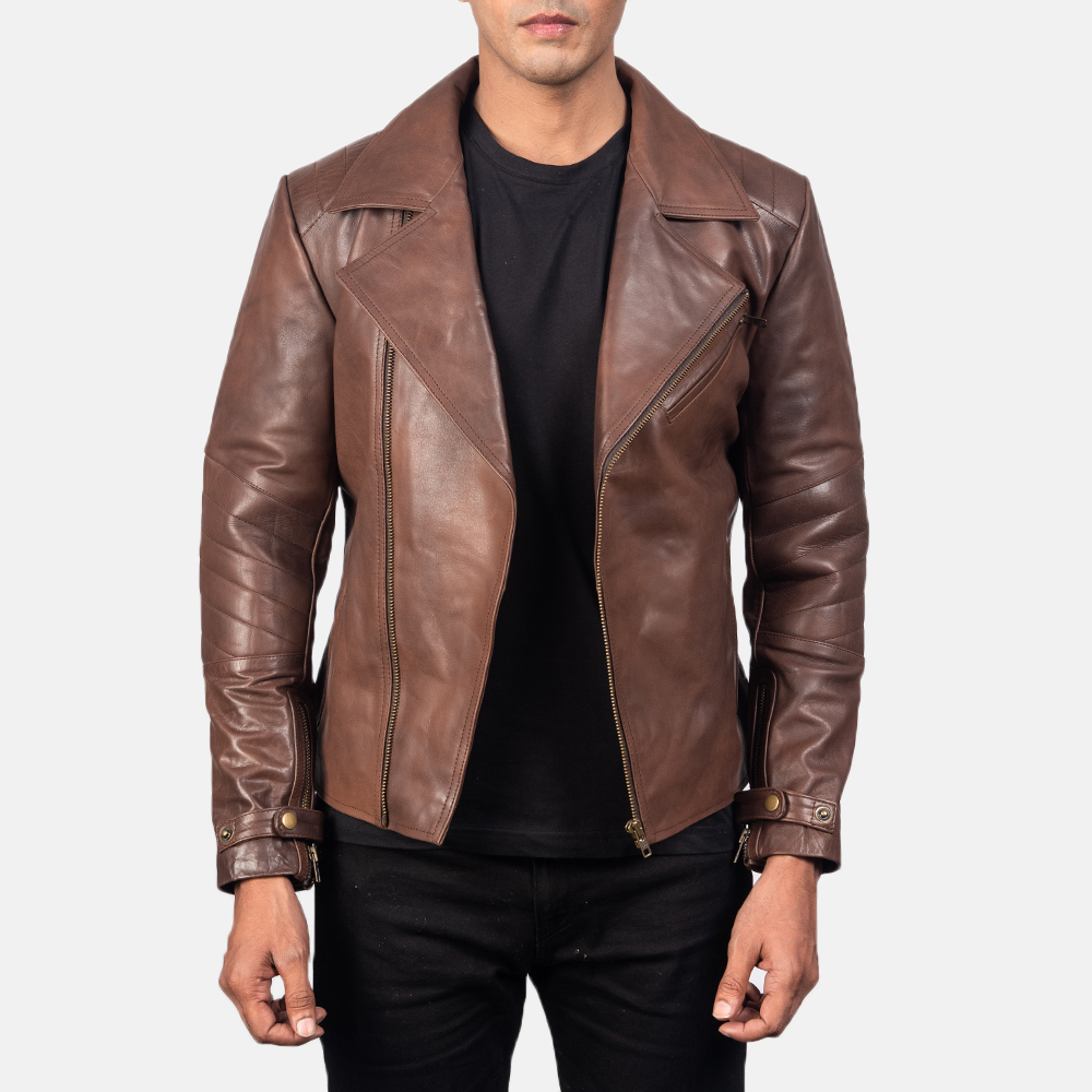 best minimalist leather jacket double rider