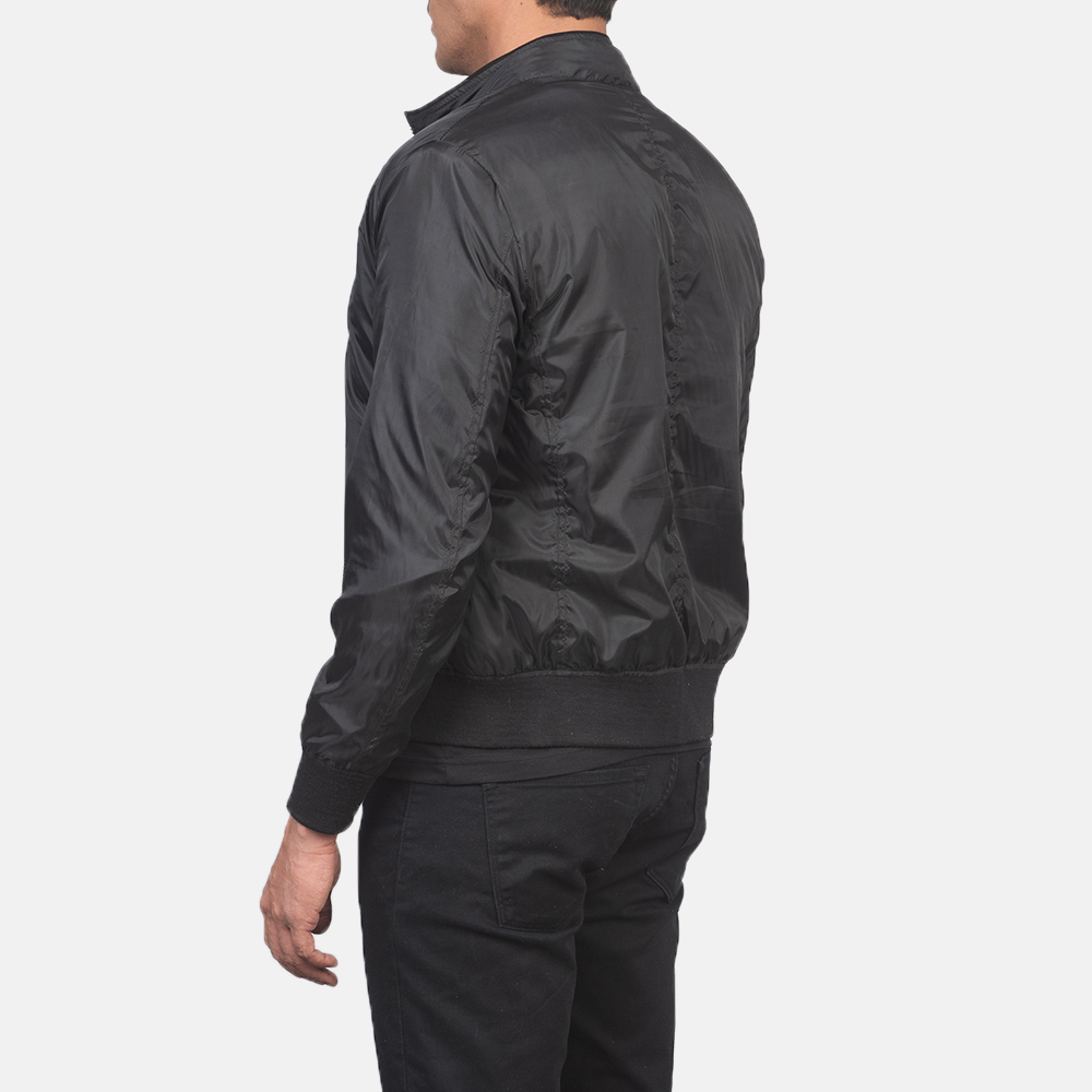 Men's Ramon Black Bomber Jacket 5
