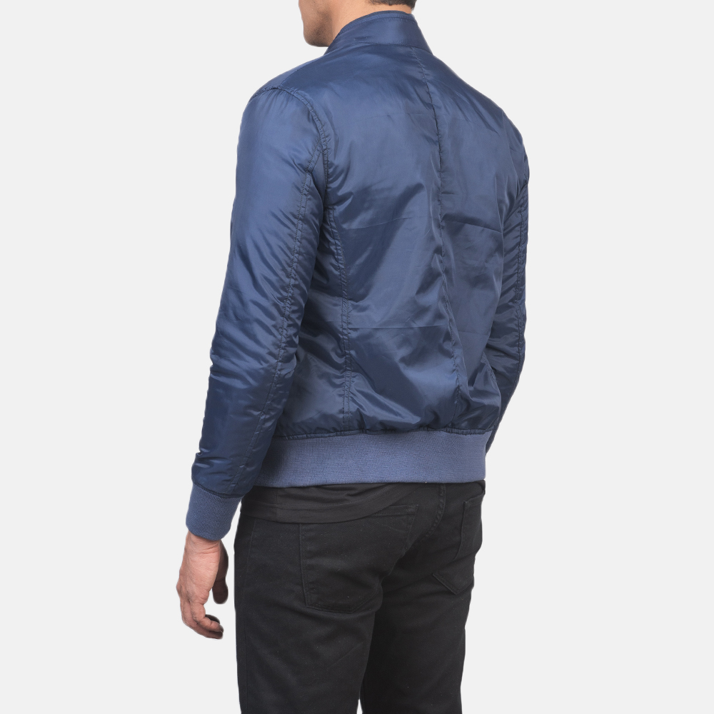 Men's Ramon Blue Bomber Jacket 5