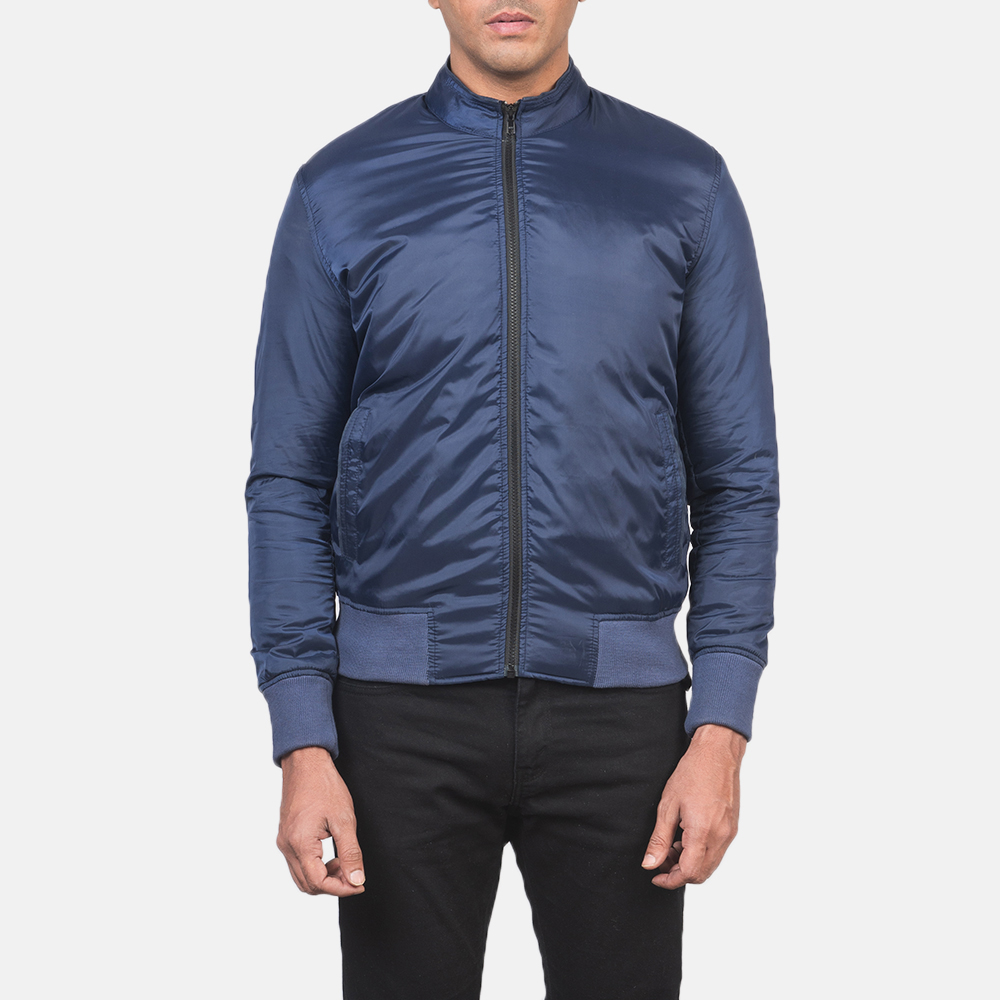 Men's Ramon Blue Bomber Jacket 4