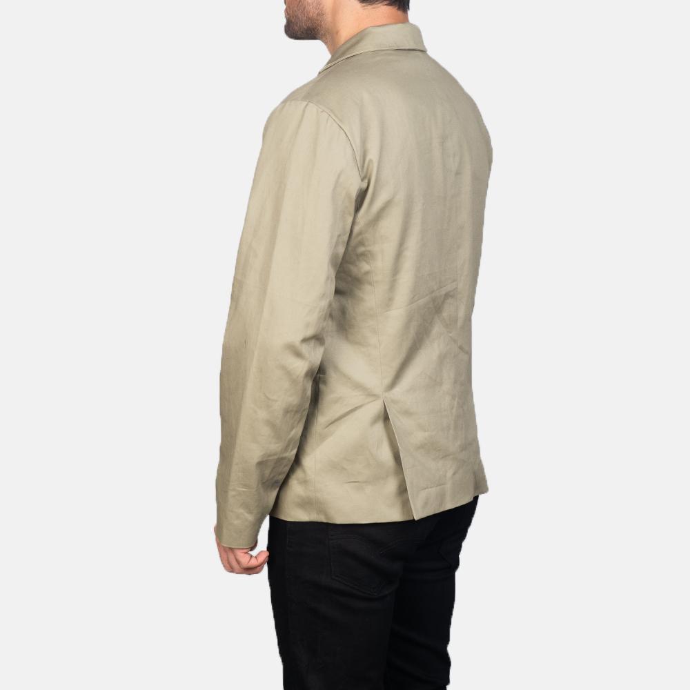 Men's Kajetan Beige Safari Jacket 5