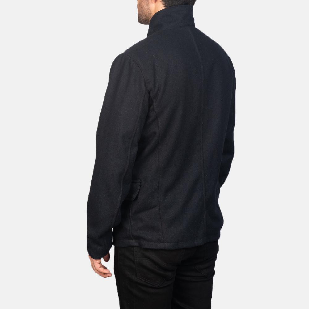 Men's Thomas Black Wool Jacket 5