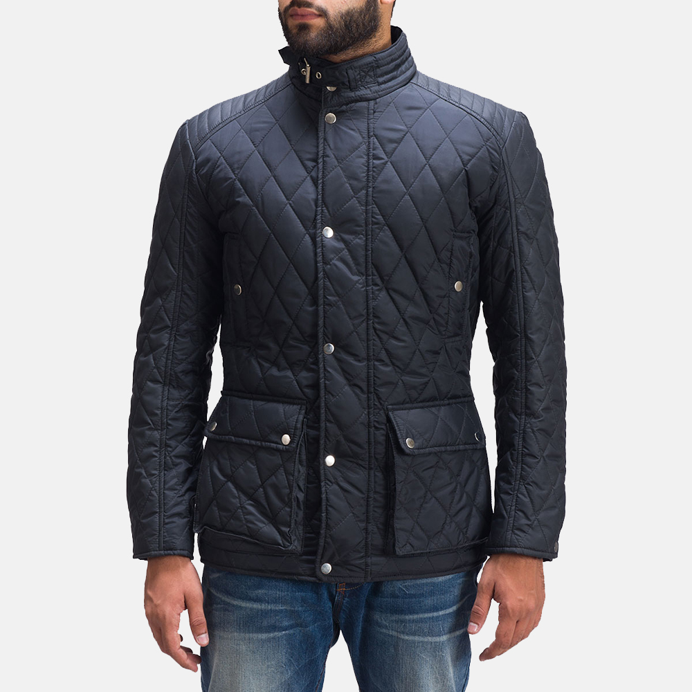 Mens Barry Quilted Windbreaker Jacket 2