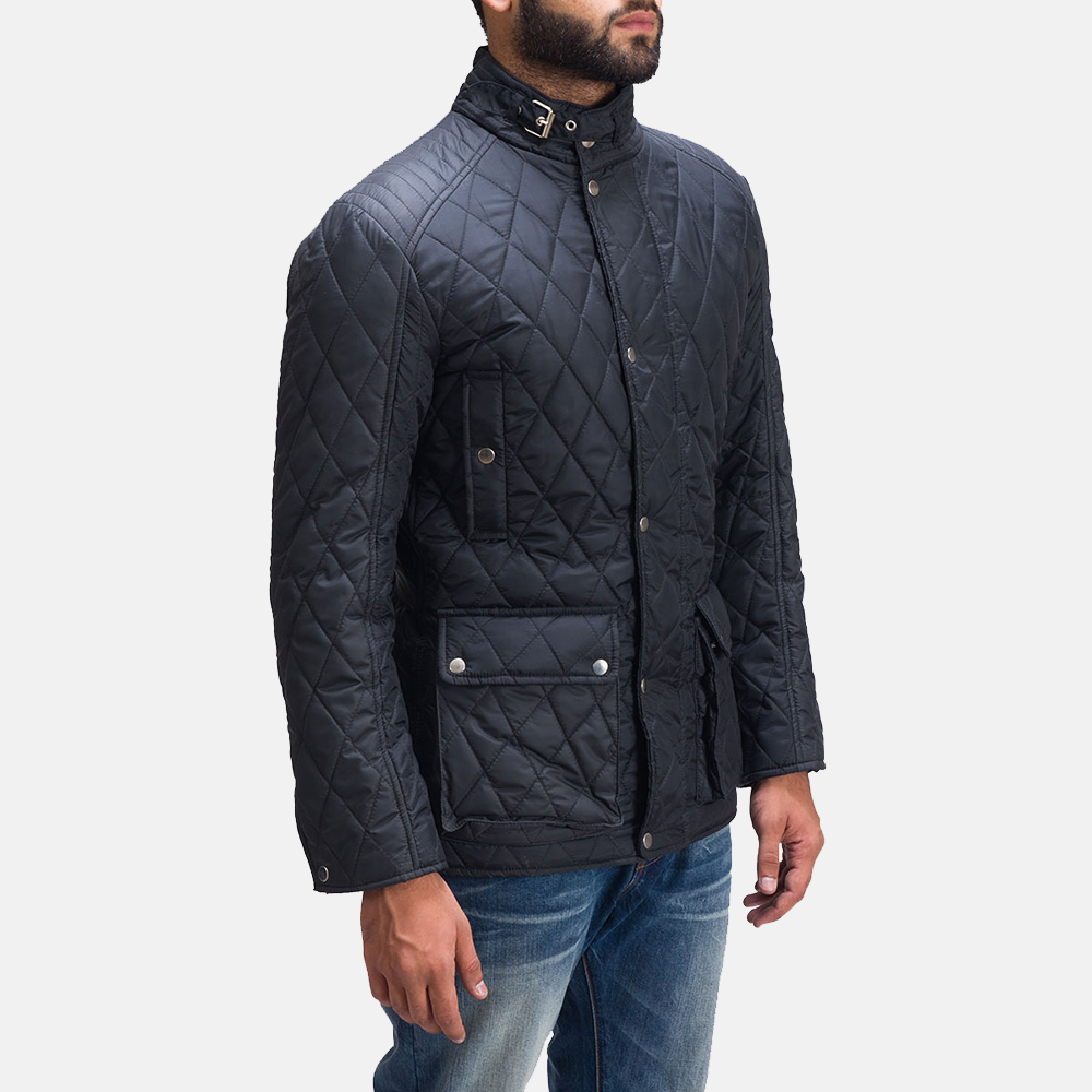 Mens Barry Quilted Windbreaker Jacket 3
