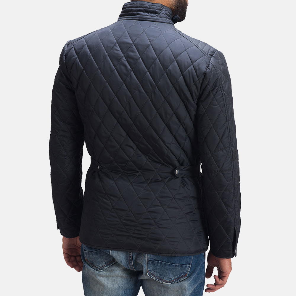 Mens Barry Quilted Windbreaker Jacket 5