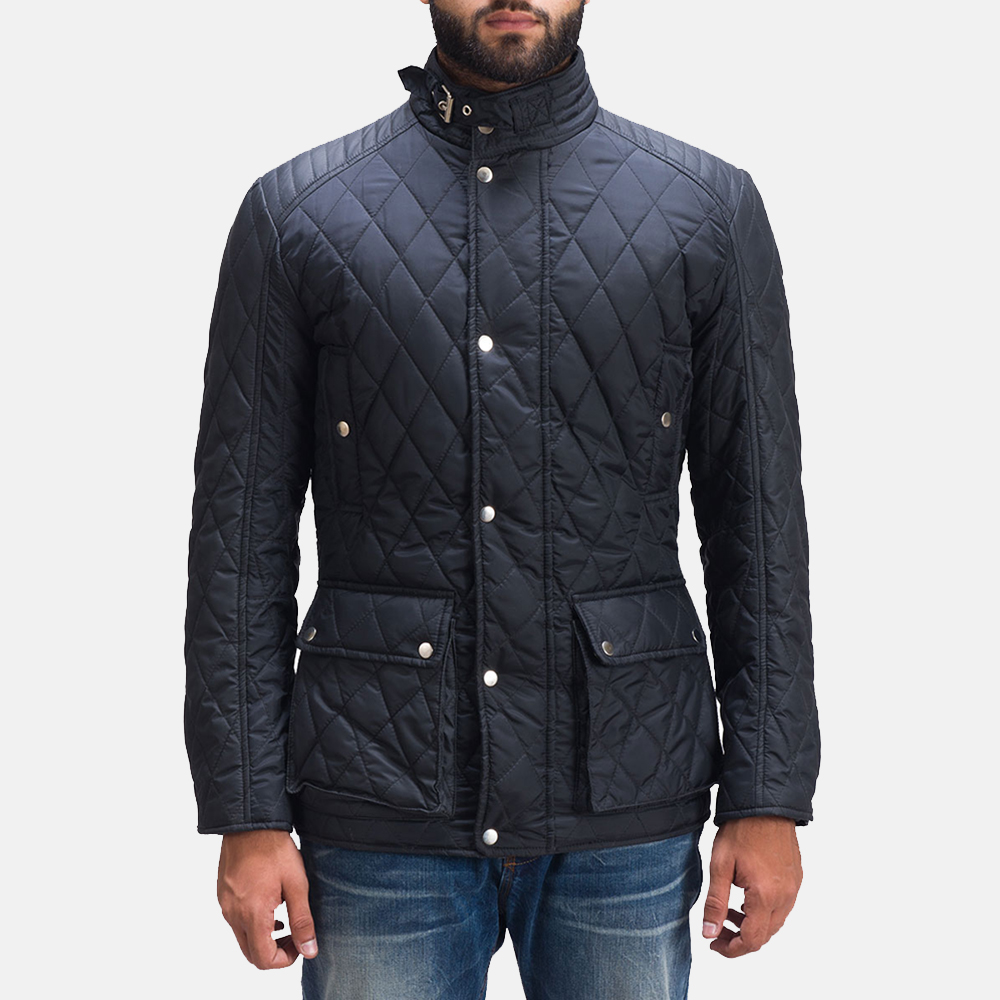 Barry Quilted Windbreaker Jacket