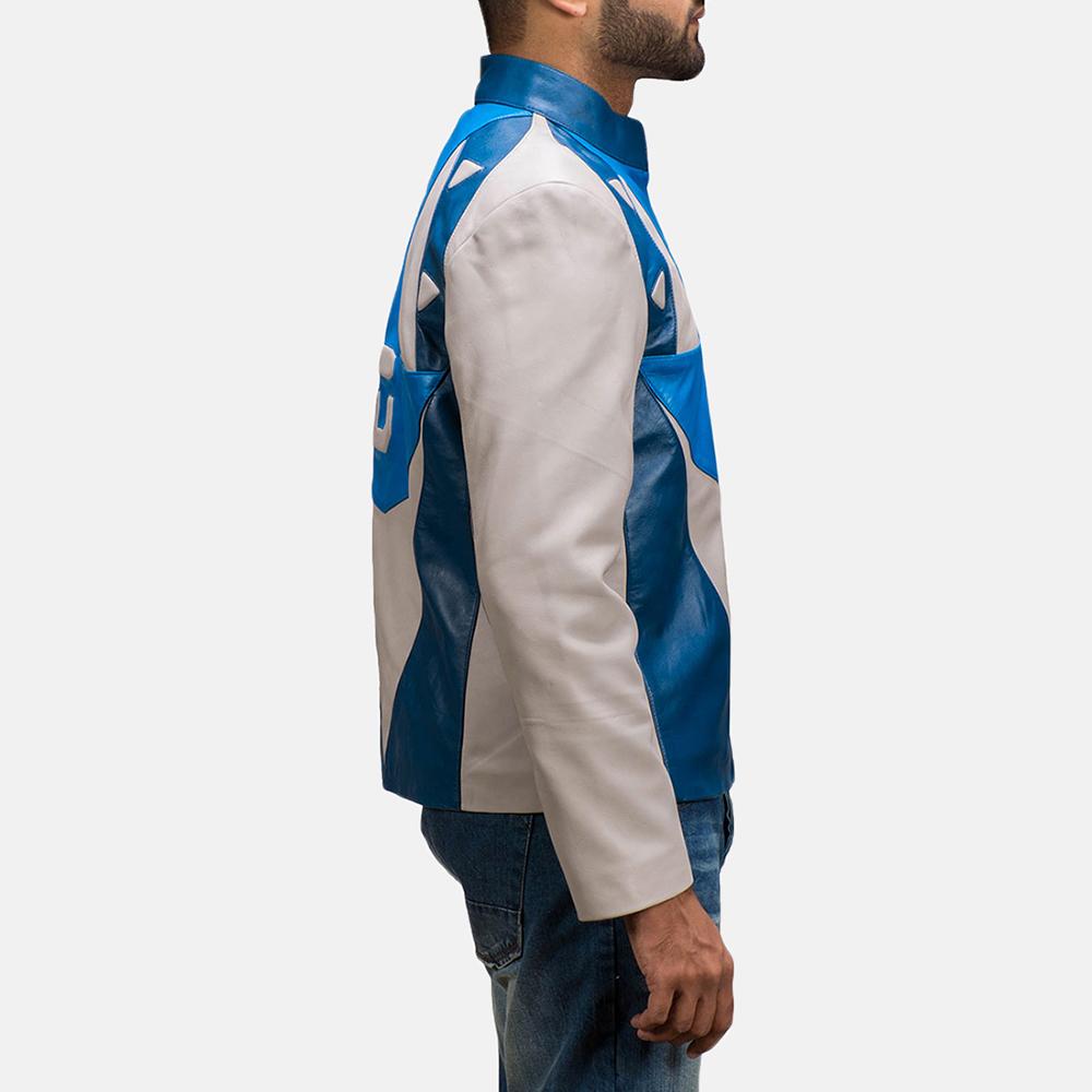 Mens Dusk Citizen Leather Jacket 4