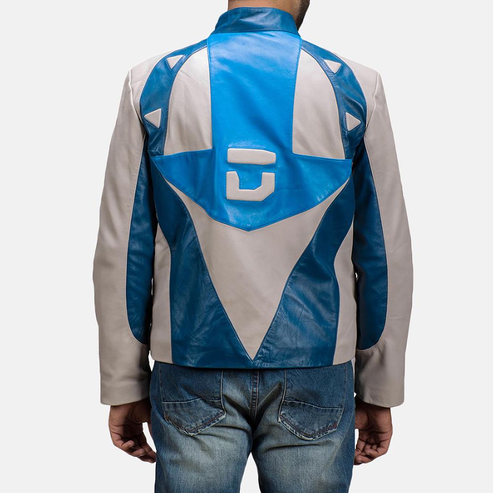 Mens Dusk Citizen Leather Jacket 5