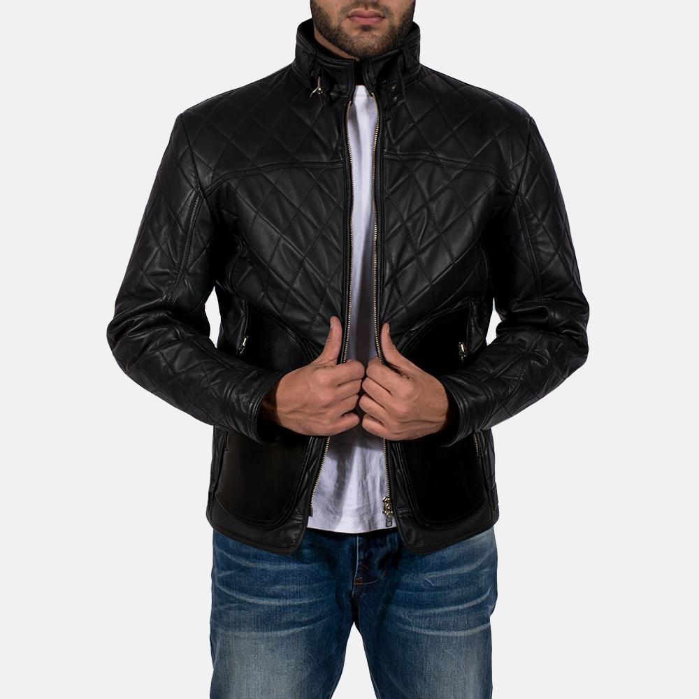 Equilibrium Black Leather Jacket