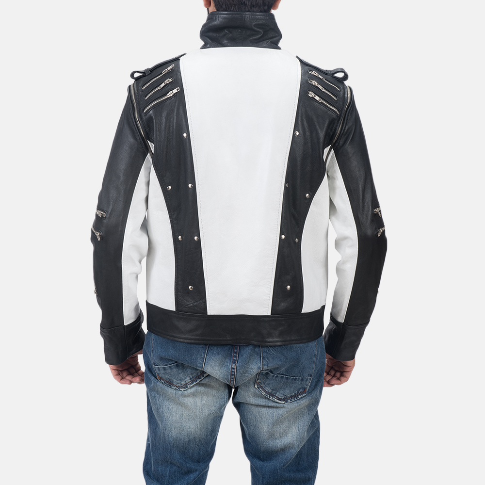 Mens Kravitz Leather Biker Jacket 7