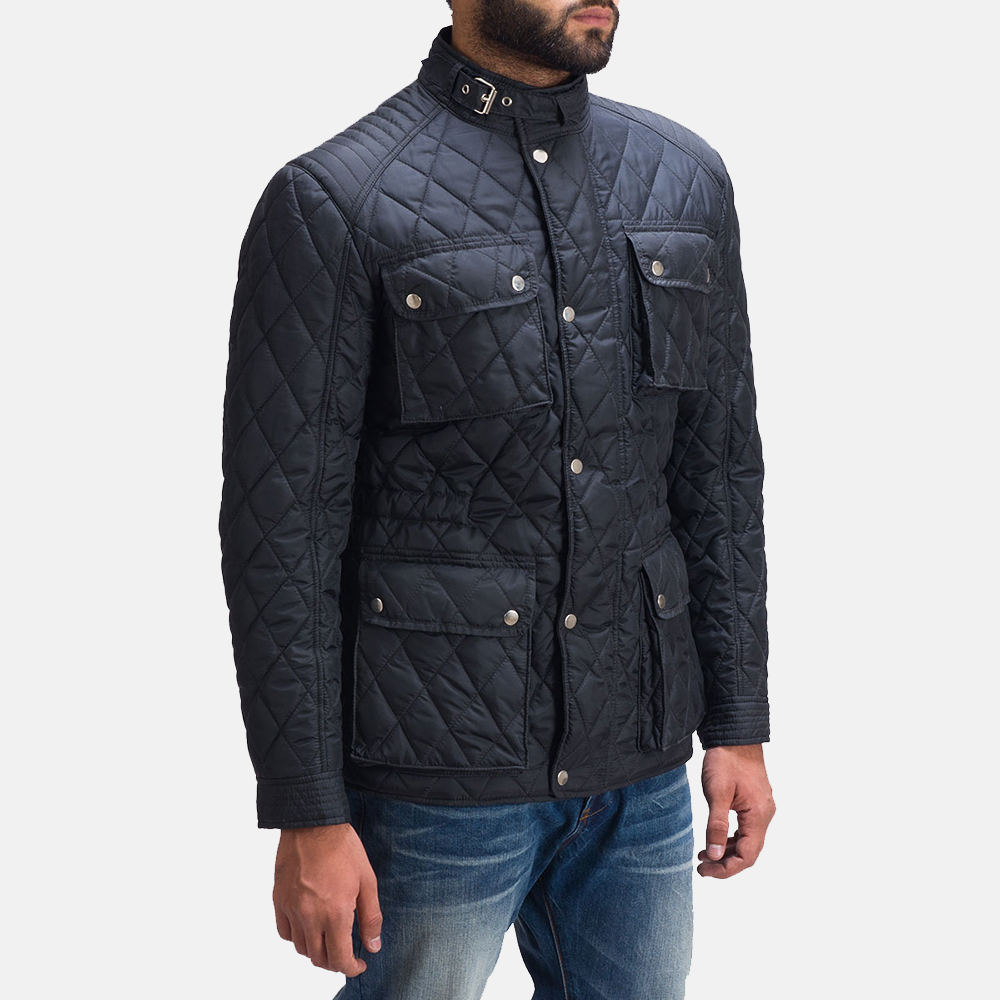 Mens Nelson Quilted Windbreaker Jacket 2