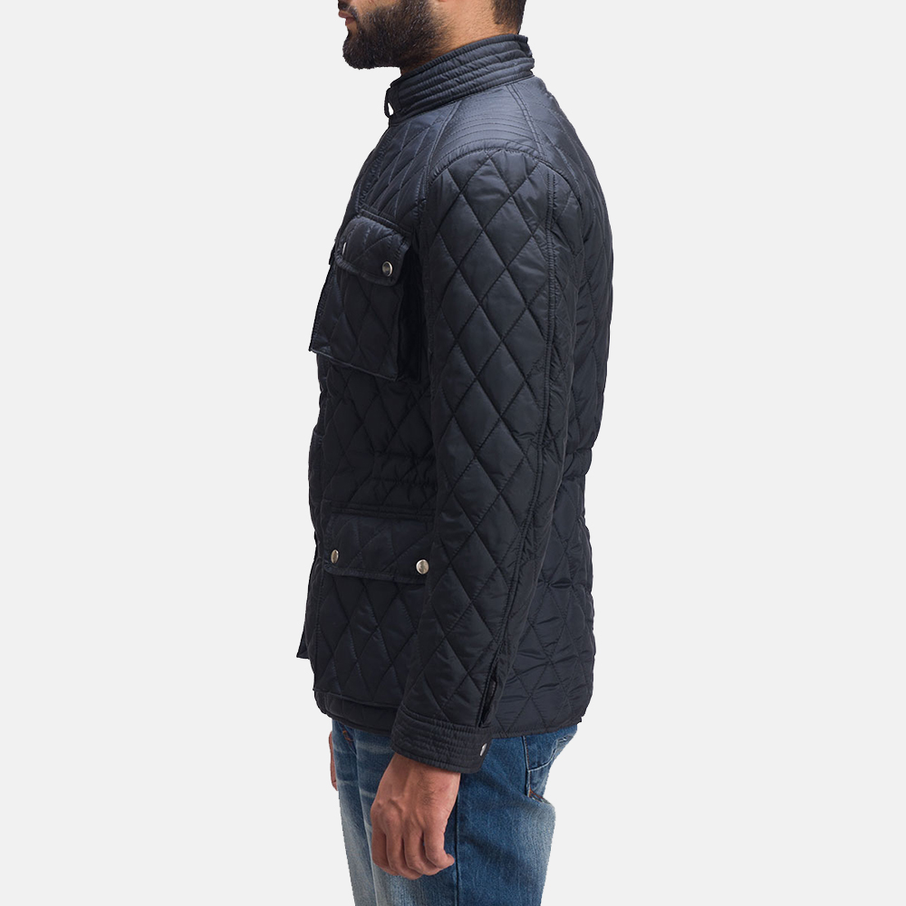 Mens Nelson Quilted Windbreaker Jacket 4