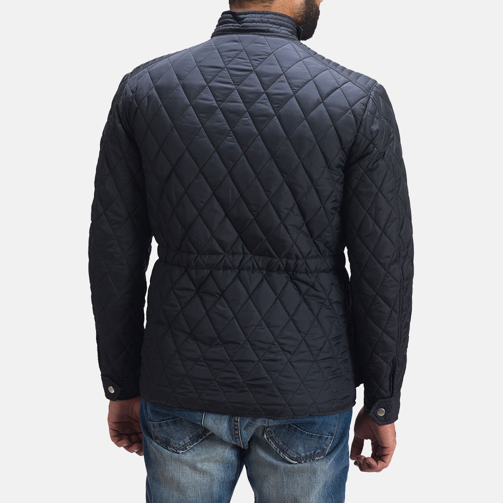 Mens Nelson Quilted Windbreaker Jacket 5