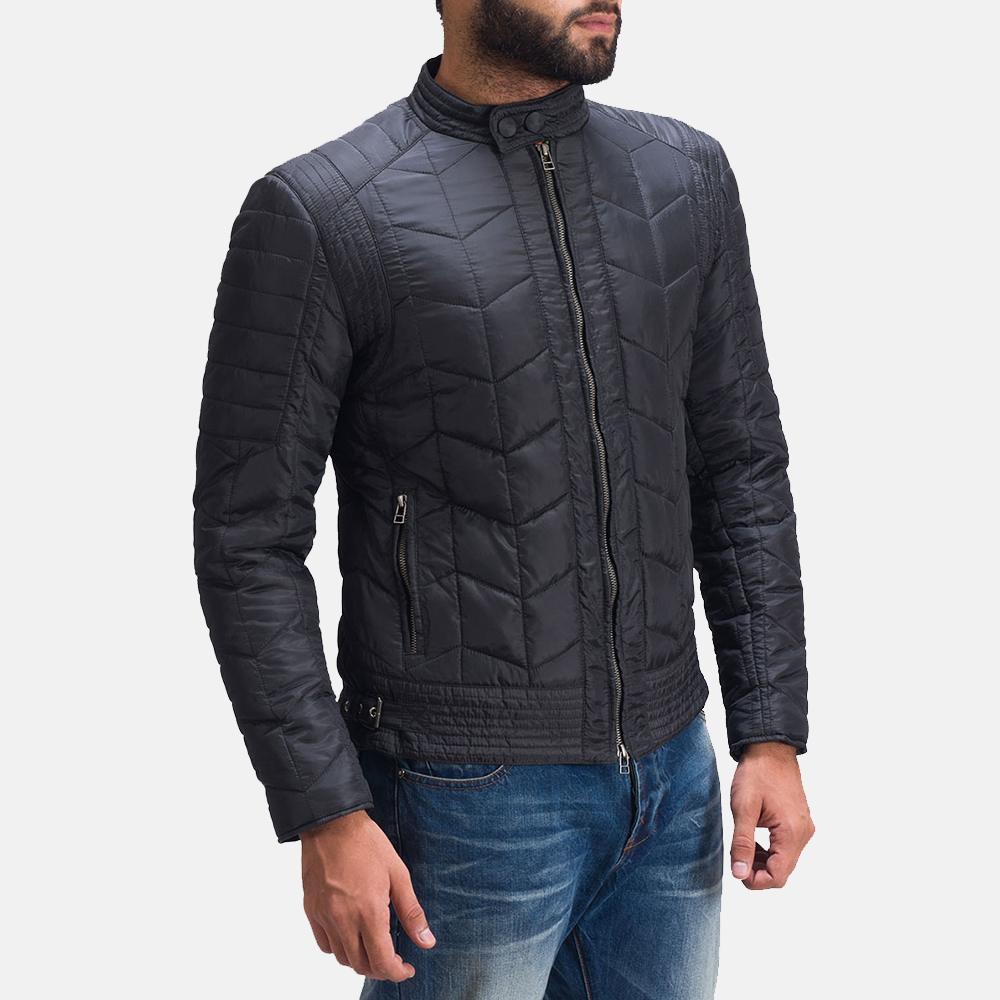 Mens Nyle Quilted Windbreaker Jacket 3