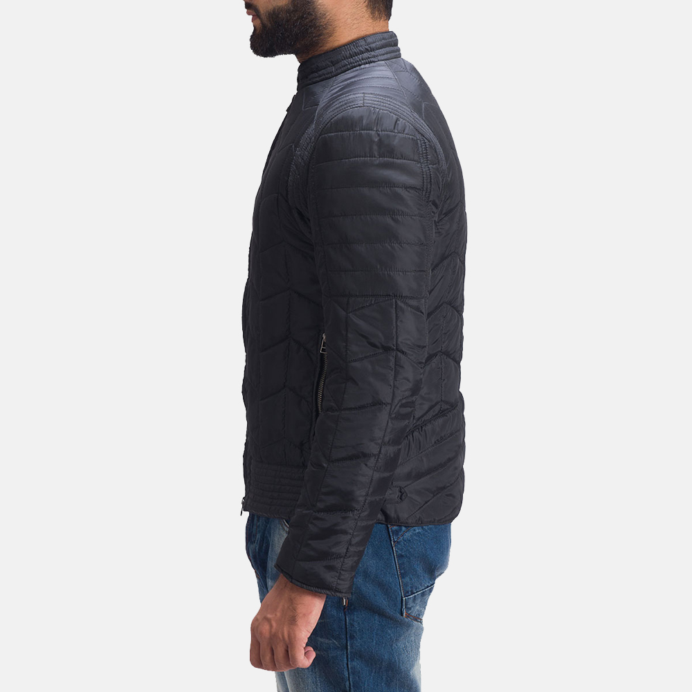 Mens Nyle Quilted Windbreaker Jacket 4