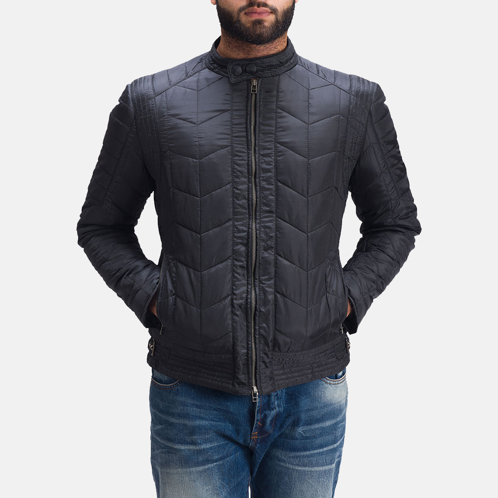 Mens Nyle Quilted Windbreaker Jacket 5