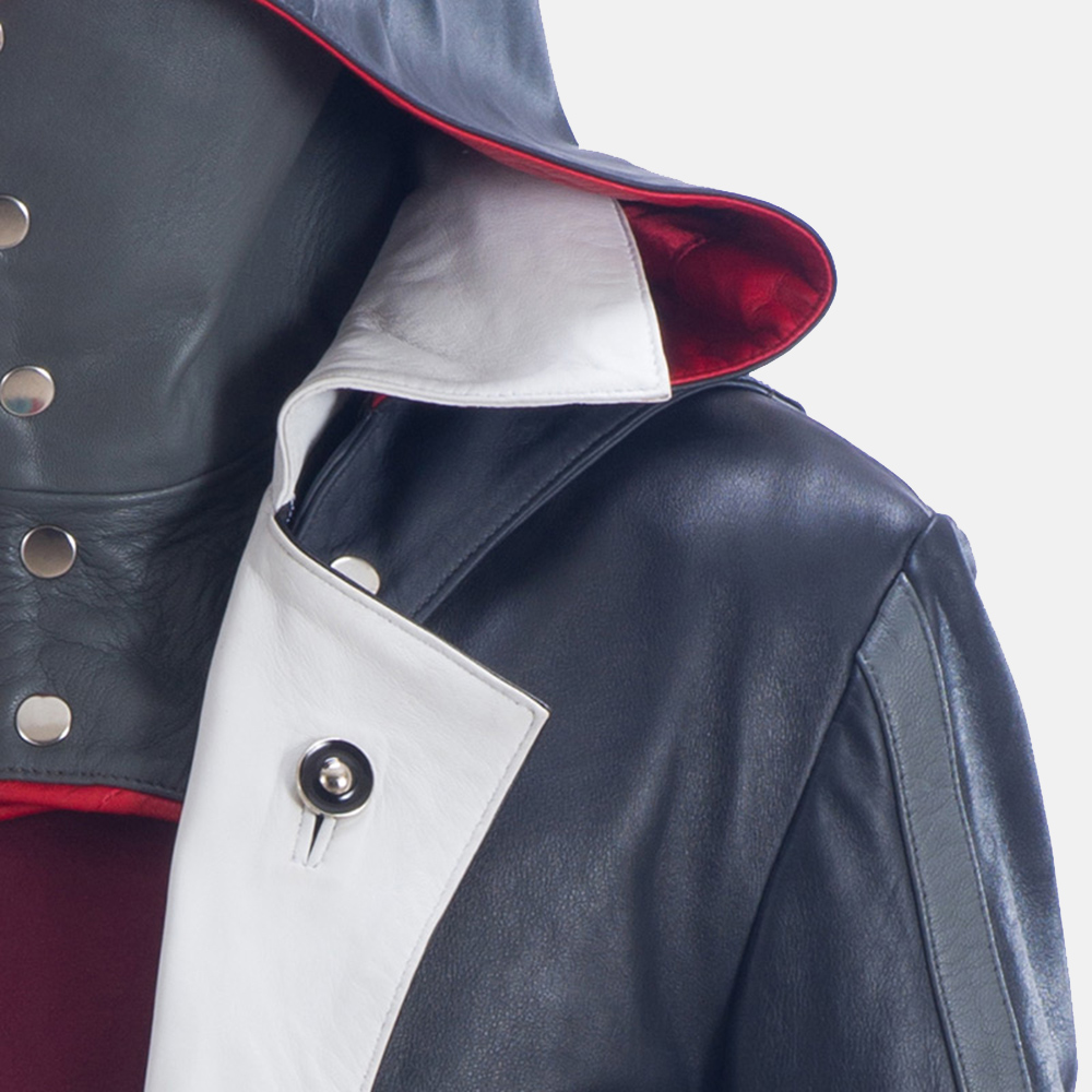 Mens Phantom Lord Leather Costume 6