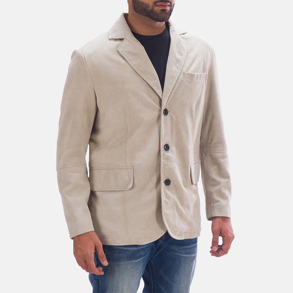 Mens Professor By Day Suede Blazer 2
