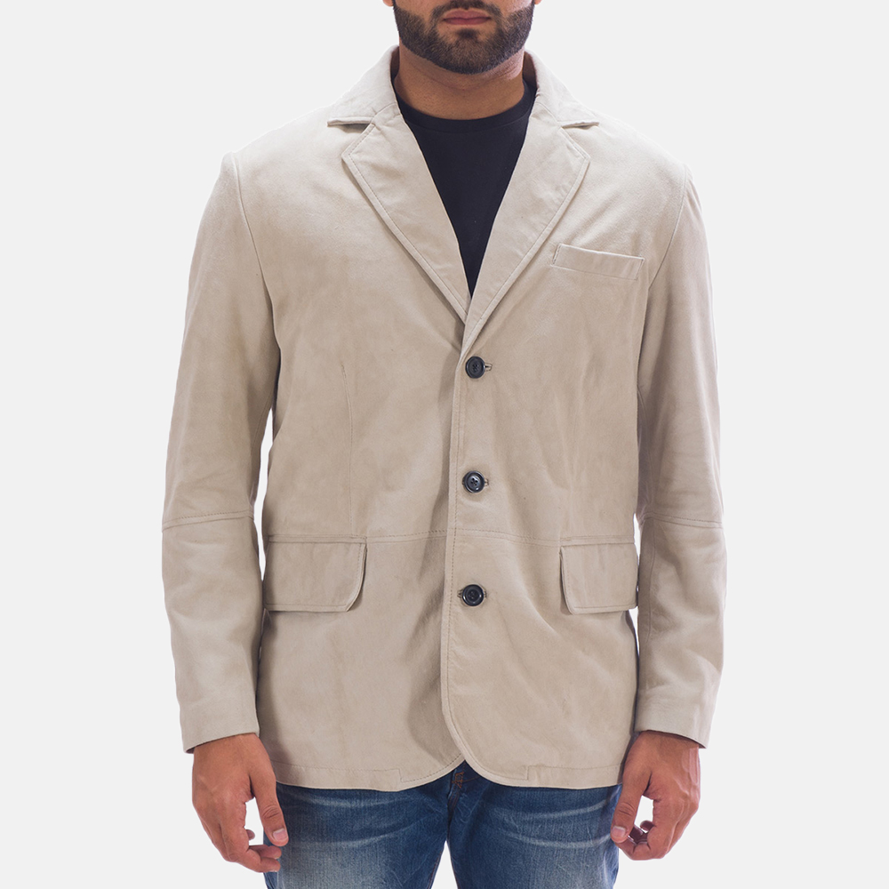 Mens Professor By Day Suede Blazer 1