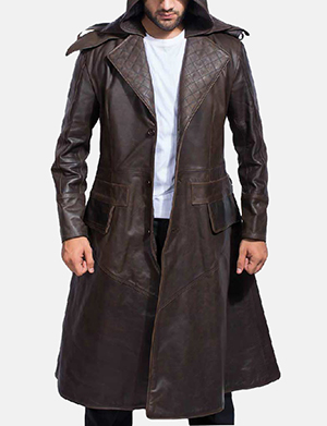 Mens sledgehammer brown leather trench coat 1491384253433 1493195759763