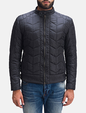 Nyle Quilted Windbreaker Jacket