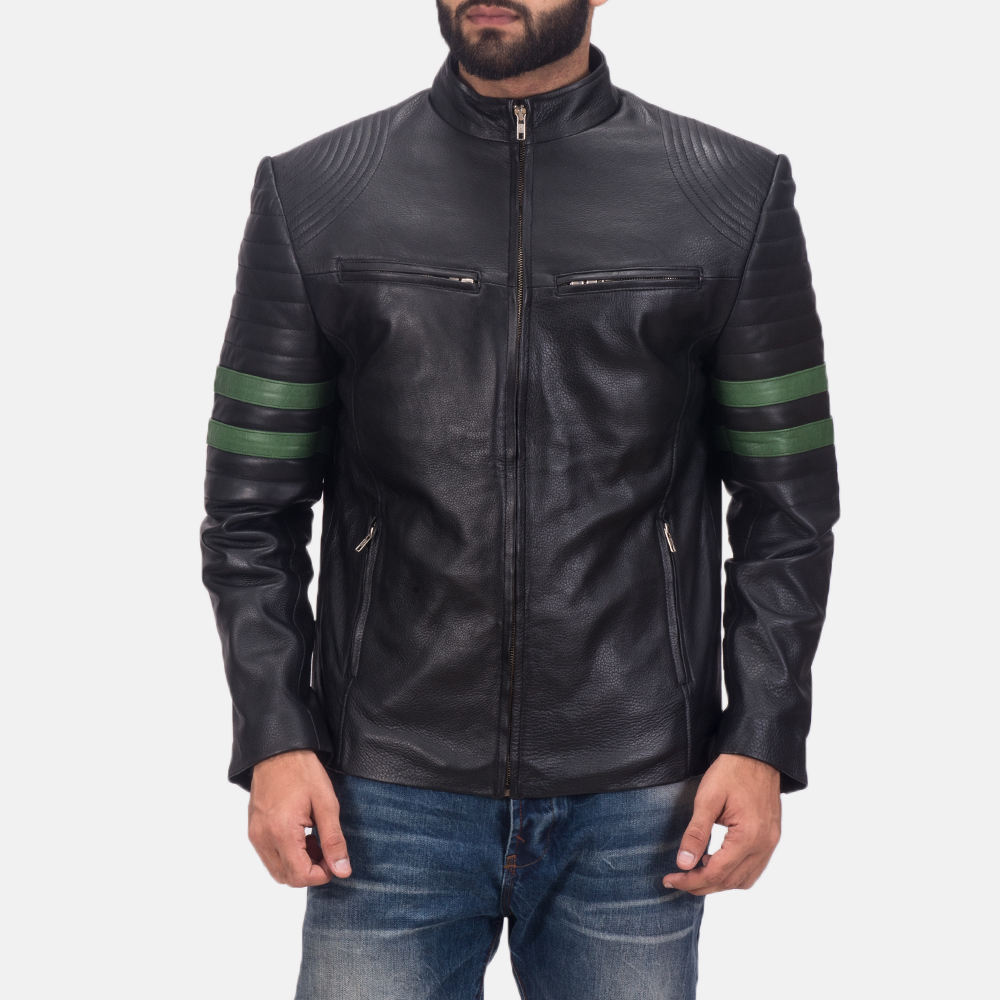 Men's Night Trooper Leather Jacket 1