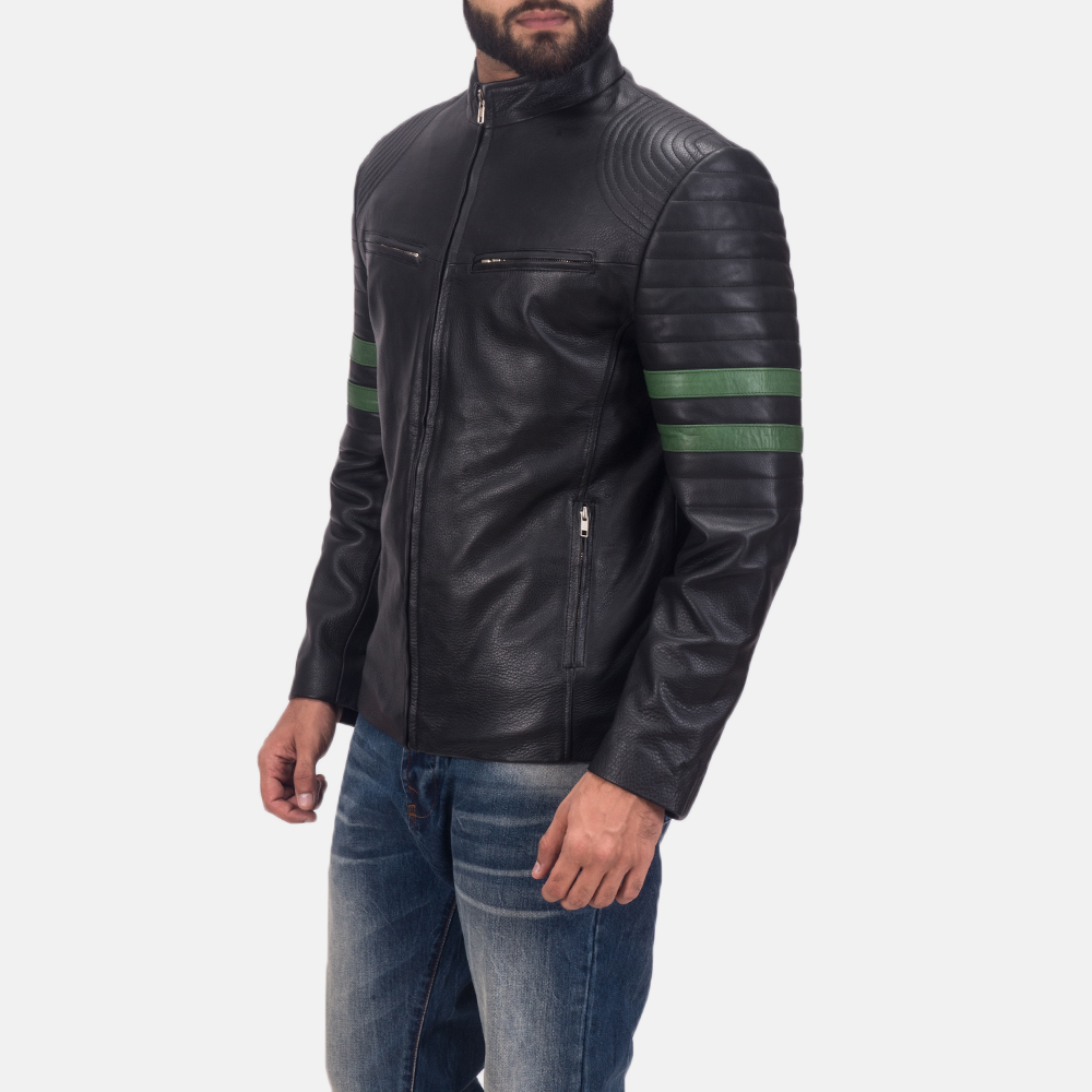 Men's Night Trooper Leather Jacket 3