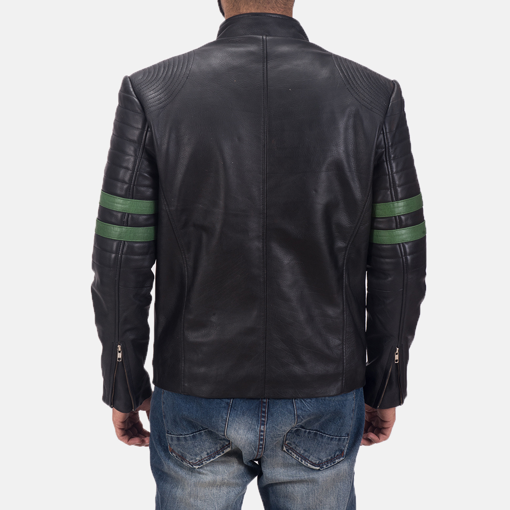 Men's Night Trooper Leather Jacket 4