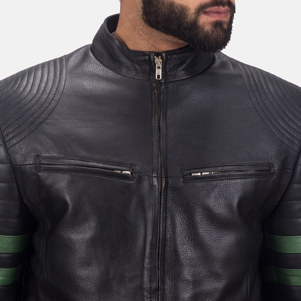 Men's Night Trooper Leather Jacket 6