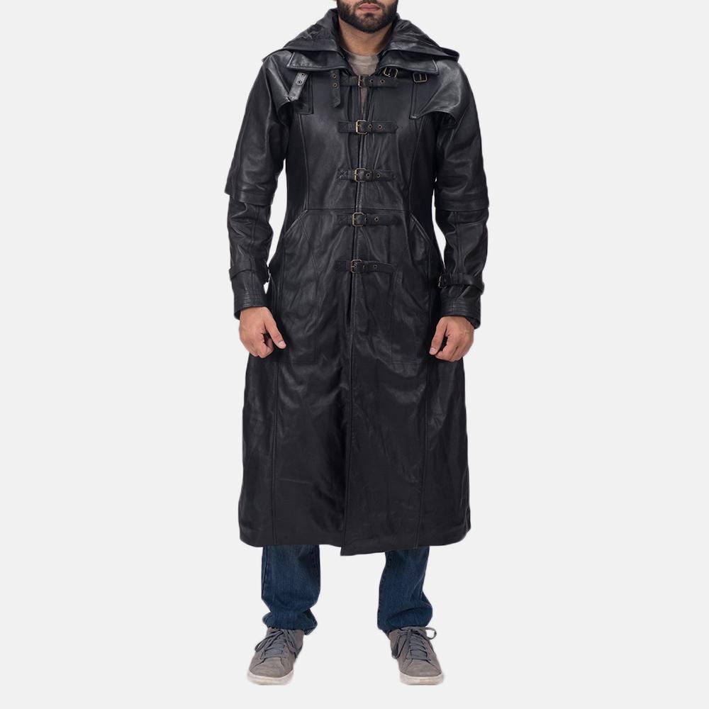 2016 SALE~ XS-XXL Men's Winter Trench Coat Hooded Jacket ...   Mens Trench Coat With Hood