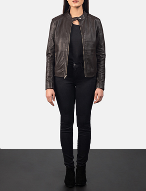 Rave%20brown%20leather%20biker%20jacket%20for%20women 1552062339652