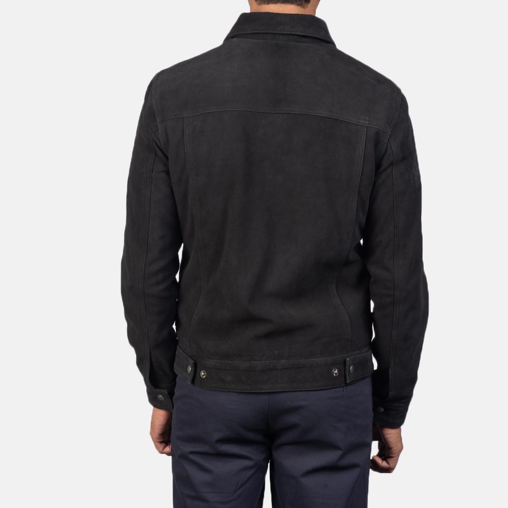 Men's Stallon Black Suede Jacket 5