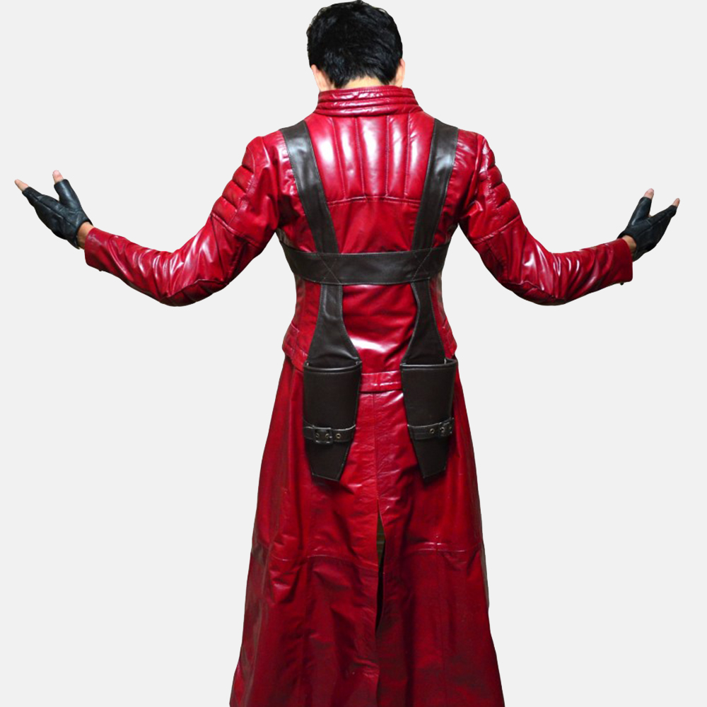Mens Devil Slayer Leather Costume 5