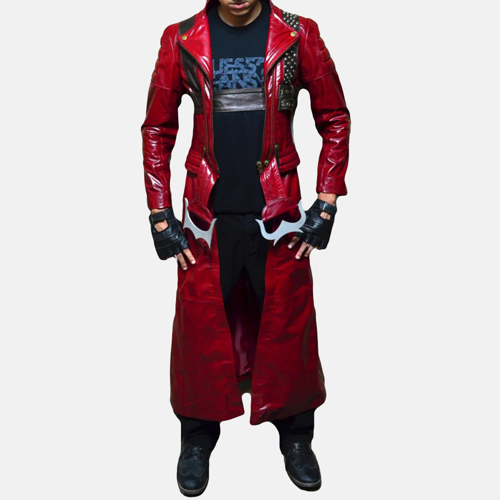 Mens Devil Slayer Leather Costume 2