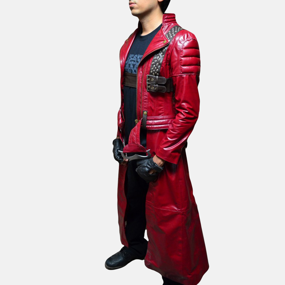 Mens Devil Slayer Leather Costume 6