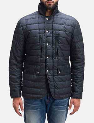 Mens Bo Quilt Windbreaker Jacket