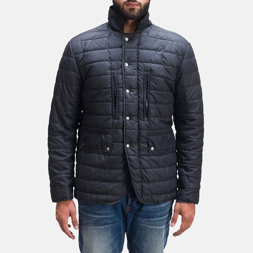 Mens Bo Quilt Windbreaker Jacket 1