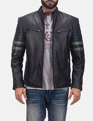 Men's Night Trooper Leather Jacket