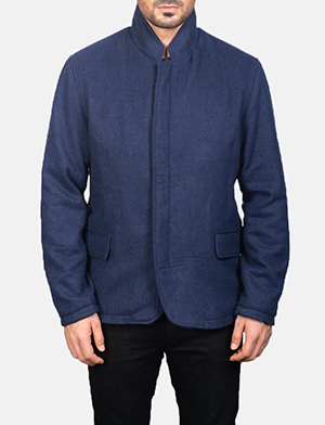 Men's Thomas Blue Wool Jacket