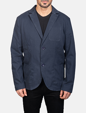 Men's Navy Blue Blazer
