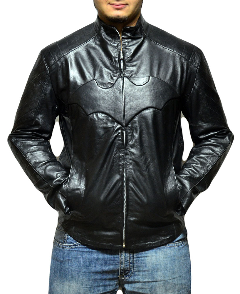 Batman Begins Leather Jacket