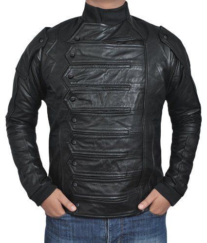 Bucky Barnes Vest With Detachable Sleeves
