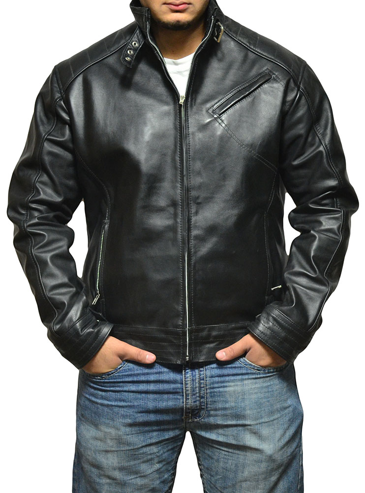 Jeremy Renner Bourne Legacy Leather Jacket