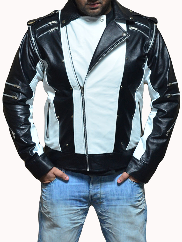 Michael Jackson Pepsi White Leather Jacket