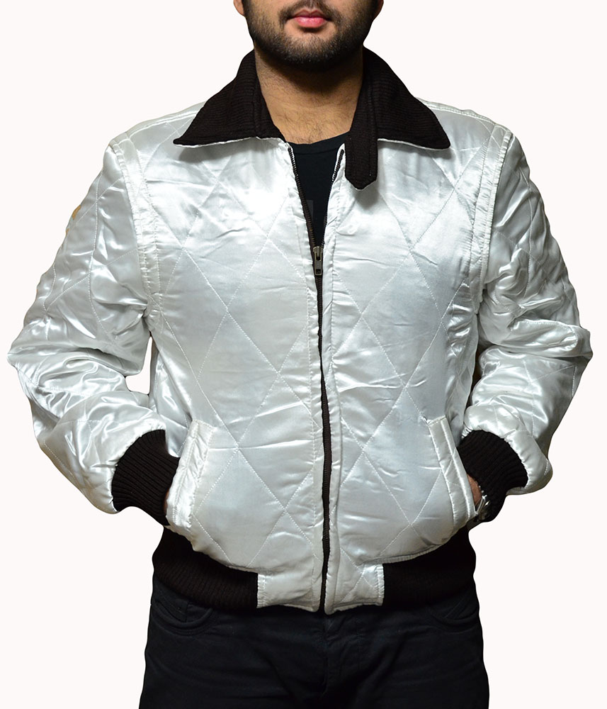Ryan Gosling White Drive Scorpion Jacket